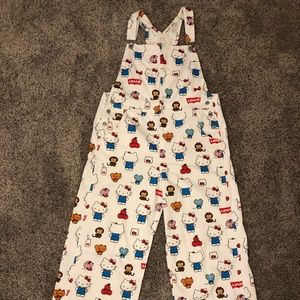 Levi's Hello Kitty Overalls